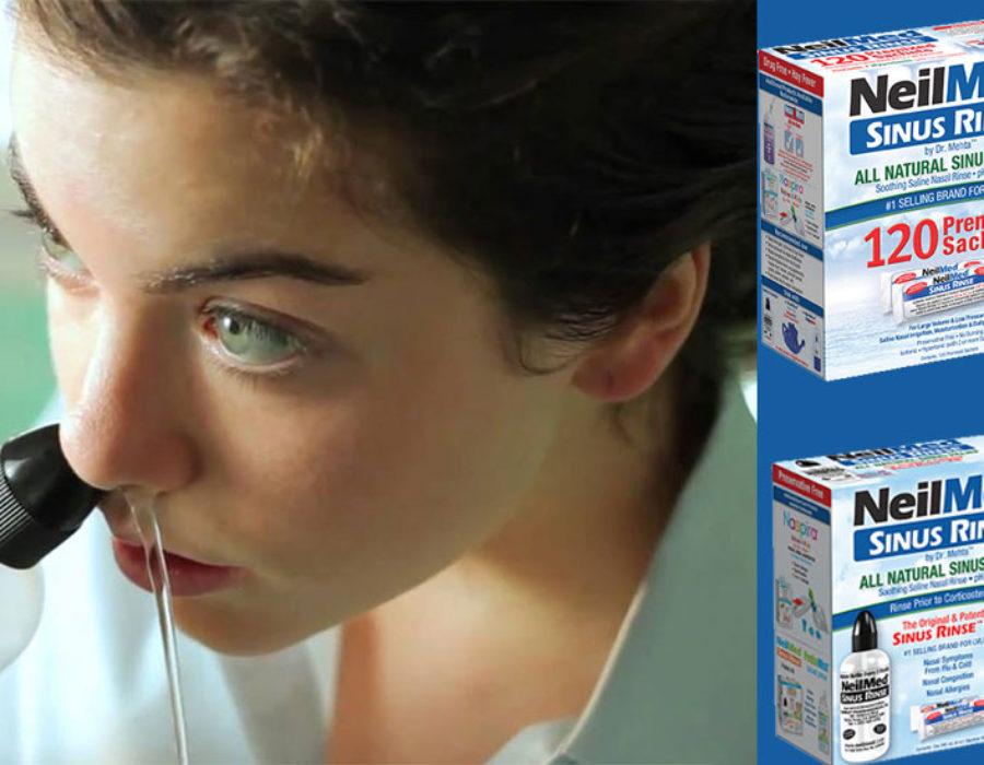Καθαρή μυτή με Sinus Rinse