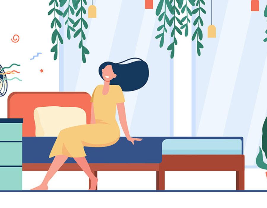 Τα μυστικά για δροσιά στο κρεβάτι τώρα που η θερμοκρασία σιγά-σιγά ανεβαίνει!